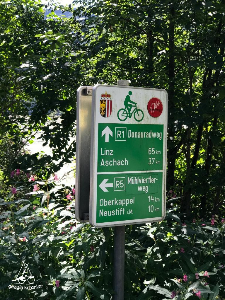 Tuna Nehri Bisiklet Turu Yol İşaretleri