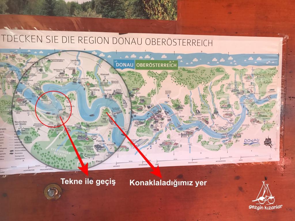 Tuna Nehri Bisiklet Turu Haritası