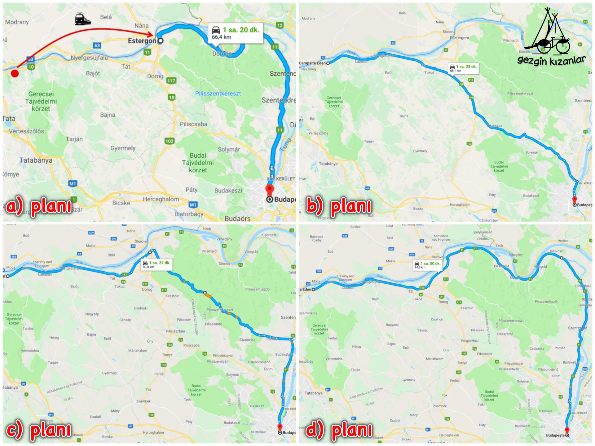 Budapeşte Gidiş Planı