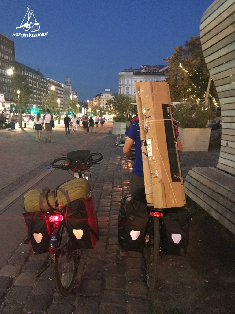 Budapeşte Bisiklet Kutusu Taşıma