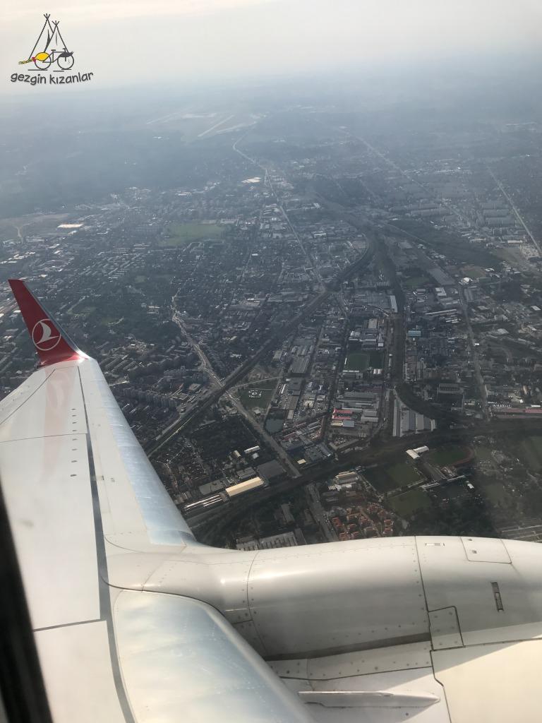 Havadan Budapeşte