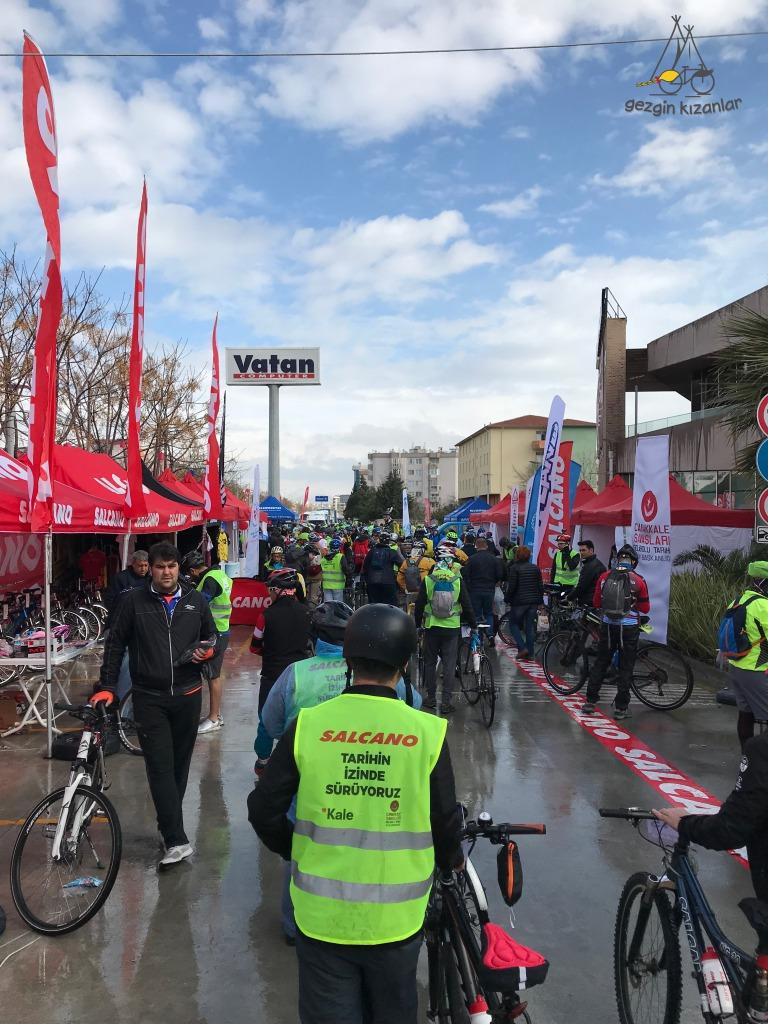 Çanakkale Bisiklet Festivali Başlnagıcı